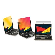 Frameless Gold Notebook Privacy Filter for 15.4 Widescreen Notebook Monitor (Set of 2)