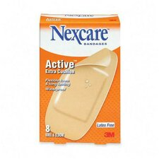 "Knee/Elbow Bandages, Latex-free, 1-7/8""x4"" Strips, 8 per Pack"