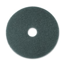 "Cleaner Pad, Removes Dirt/Spills/Scuffs, 16"", 5/CT, Blue"