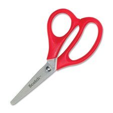 "Kid Scissors, 5"" Length, Blunt, Red"
