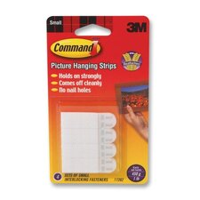 <strong>3M</strong> Command Picture Hanging Removable Interlocking Fasteners, 4 Set/Pack