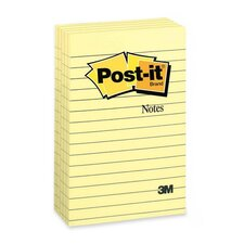 Post-It Notes Bonus Pack, 5 100-Sheet Pads/Pack