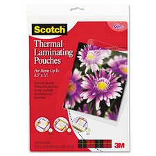<strong>3M</strong> Scotch Letter Size Thermal Laminating Pouches, 20/Pack