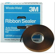 Ribbon Seal Glass Kit 3/8""""