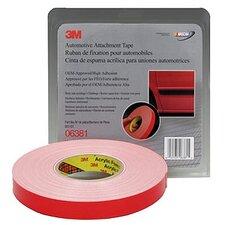 Foam Double Sided Tape 7/8 X 20Yd (White)