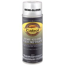 11.5 Oz Aerosol Interior Oil-Based Polyurethane Semi-Gloss