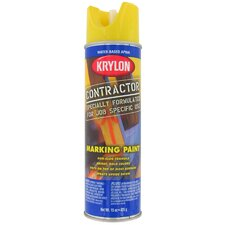 15 Oz APWA Utility Yellow Water Based Contractor Marking Spray Paint