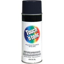 10 Oz Black Touch 'N Tone® Spray Paint Semi Gloss