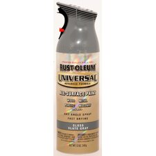 <strong>Rustoleum</strong> 12 Oz Slate Gray Universal® All Surface Paint Gloss