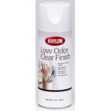 11 Oz Matte Low Odor Clear Spray Paint