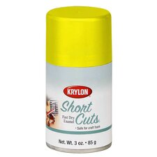 3 Oz Sun Yellow Short Cuts® Spray Paint Gloss