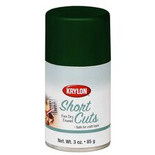 Hunter Green Short Cuts Spray Paint Gloss