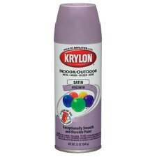 12 Oz Hyacinth Indoor and Outdoor Spray Paint Satin