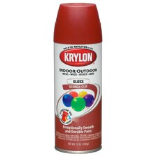 12 Oz Georgia Clay Indoor and Outdoor Spray Paint Gloss