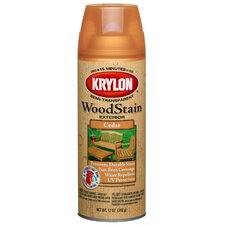 <strong>Krylon</strong> 12 Oz Cedar Transparent Exterior Wood Stain Semi