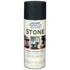 12 Oz Black Granite Stone Spray Paint