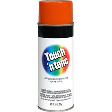 10 Oz Orange Touch ´N Tone® All Purpose Spray Paint Gloss