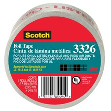 "2.5"" x 60 Yards Scotch Aluminum Foil Tape"