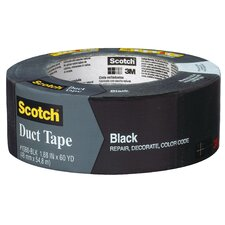 "1.88"" x 60 Yards Scotch Duct Tape in Black"