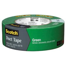 "<strong>3M</strong> 1.88"" x 60 Yards Scotch Duct Tape Green"