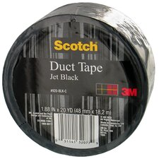 20 Yards Jet Black Duct Tape