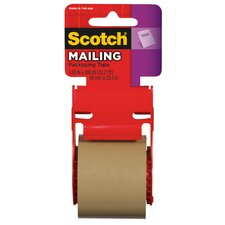 "2"" x 800"" Brown Scotch® Mailing Tape 147"