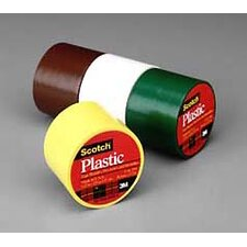 "1-1/2"" X 125"" Scotch® Clear Plastic Tape (Pack of 6)"