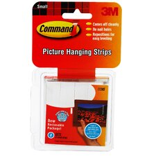 Small Command Picture Hanging Strip