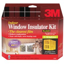 Interior Shrink Film Window Kit