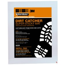 <strong>3M</strong> Dirt Catcher Super Sticky Mat Refill Pad (15 Count)