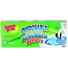 Scotch-Brite Disposable Toilet Bowl Scrubber Refill