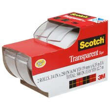 <strong>3M</strong> Scotch Transparent Tape (2 Count)