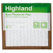 Highland Basic Pleated Air Filter (Set of 6)