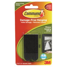 Command Picture Hanging Strip (Set of 4)