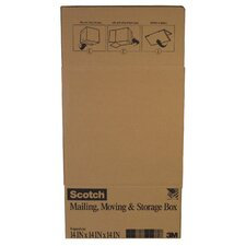 "14"" x 14"" x 14"" Scotch Shipping Box"