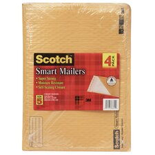 "10.50"" x 15"" Scotch Smart Mailer (4 Count)"