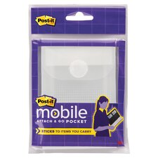 Post It Mobile Attach Go Pocket and Dual Lock Fastene