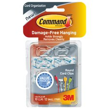 Command Cord Clip (10 Count)
