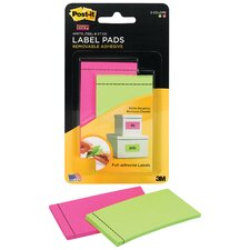 "<strong>3M</strong> 2"" x 3"" Label Pad (2 Count)"