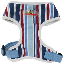 Stripe Fashion Dog Harness and Lead