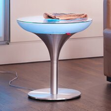 Lounge Side Table with LED-Lighting