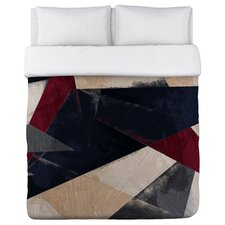 Oliver Gal Abstracta HR Duvet Cover