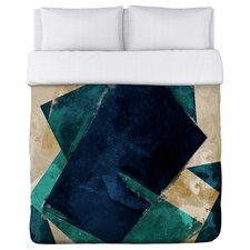 Oliver Gal Abstracta Dos Duvet Cover Collection