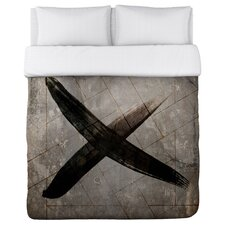 Oliver Gal Cross Duvet Cover