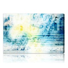 ''Water is'' Graphic Art on Canvas