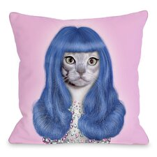 <strong>OneBellaCasa.com</strong> Pets Rock Gurl Pillow