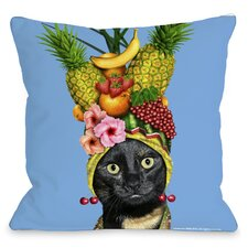 <strong>OneBellaCasa.com</strong> Pets Rock Fruit Pillow