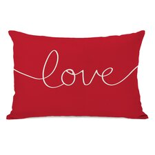 <strong>OneBellaCasa.com</strong> Holiday Love Mix and Match Pillow