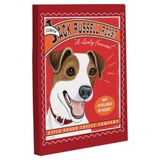 Doggy Decor Jack Russell Roast Graphic Art on Canvas