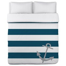 Striped Anchor Duvet Cover Collection